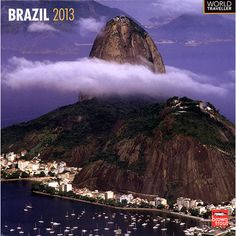 Brazil Wall Calendar: One of South America's most beautiful and dynamic nations, this calendar is a celebration of the structures and vistas that make Brazil such a great country.  http://www.calendars.com/Globetrotter/Brazil-2013-Wall-Calendar/prod201300005025/?categoryId=cat00719=cat00719
