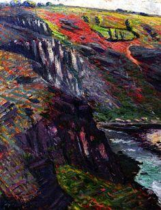 bofransson: Landscape, Crozant, 1901 Othon Friesz