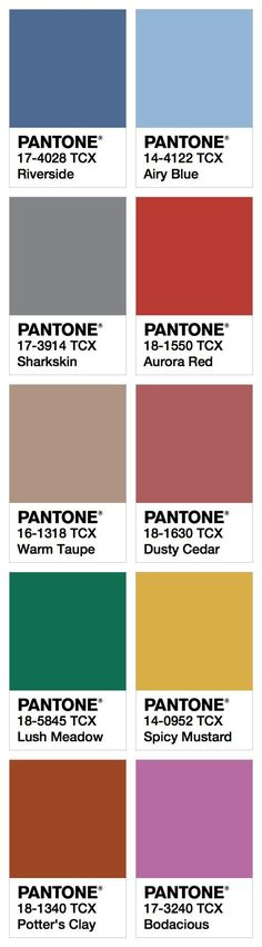 F/W 2016 Color Trend / Kerstin Tomancok / Farb-,Typ-, Stil & Imageberatung