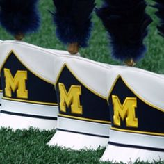 Can wait to see these hats in the fall! -- can't wait to wear mine again :):):):):) Michigan Go Blue, Michigan Wolverines Football, Marching Band Humor, Detroit Sports, Football Stadiums, University Of Michigan, College Fun, Ann Arbor, Pretty Pictures