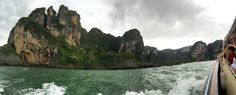 Stormy Waters en route to Railway Beach, Thailand, 2016