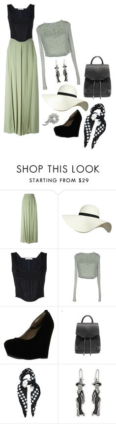 """Summer lady"" by perpetto ❤ liked on Polyvore featuring Givenchy, Pilot, SCERVINO STREET, Delicious, rag & bone, MaxMara, NOVICA and Nina"