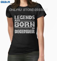 >> Click to Buy << Gildan Only4U Bulk T Shirts Legends Are Born In December Short-Sleeve T Shirt #Affiliate