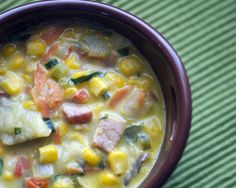 Potato Corn Chowder Soup