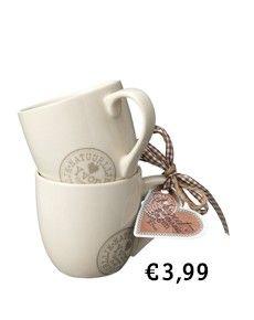 Sweet little mugs by Natuurlijk Yvon