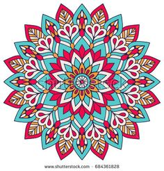 Find Flower Mandala Vintage Decorative Elements Oriental stock images in HD and millions of other royalty-free stock photos, illustrations and vectors in the Shutterstock collection. Mandala Wallpaper, Mandala Artwork, Mandala Painting, Pattern Wallpaper, Mandala Design, Mandala Pattern, Mandala Art Lesson, Mandala Drawing, Arte Mandela