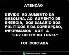 Brasil-Corrupção-2016-Comunicado-Atenção. Devido ao aumento da gasolina... (2)