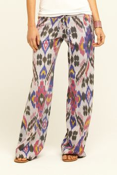 GEORGIE- St. Bart's in Floral Ikat. Available at Calypso.com