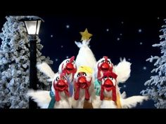"""Muppets """"Joy To The World"""" Music Video - The Muppet Christmas Carol 20th Anniversary Edition, Let's celebrate with singing chickens:"""