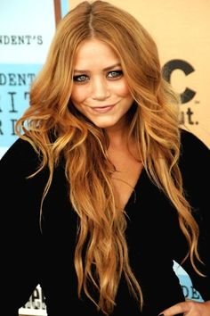 One day I will be bold enough to go strawberry blonde!