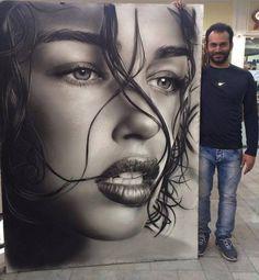 Artist: Mohammad Forouji. (pencil drawing.)