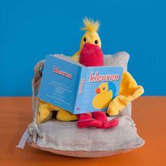 Arie leest een boek