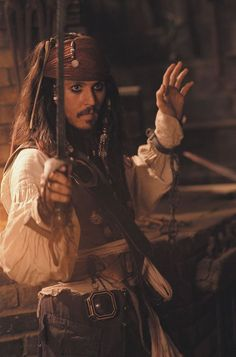 "My fav guy....the infamous ""Captain"" Jack Sparrow"
