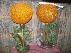 spaghetti lamps- my friend's family had these same lamps.... complete with plastic plants!