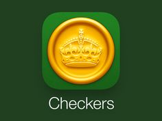 Checkers App Icon for iOS 7 by Louie Mantia for Pacific Helm
