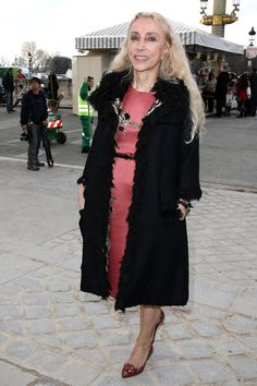 Franca Sozzani Photos - Franca Sozzani attends the Valentino show as part of the Paris Fashion Week Womenswear Fall/Winter 2014-2015 on March 4, 2014 in Paris, France. - Arrivals at the Valentino Show