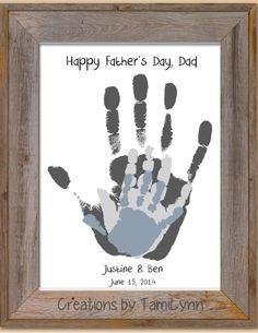 Parent/Grandparent/Child Handprint Art by CreationsbyTamiLynn