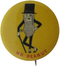 Characters with Canes Buttons (Part from the Busy Beaver Button Museum Vintage Tins, Vintage Buttons, Vintage Antiques, Vintage Stuff, Button Badge, 1 Button, Advertising Logo, Cool Buttons, Pin And Patches
