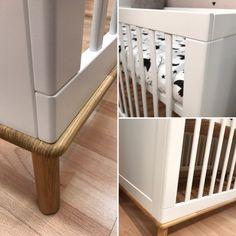 Milkii Baby- und Kinderbett Miira, 140 x 70 cm Baby Products, Cribs, Modern, Bed, Furniture, Home Decor, Sleep Well, Child Bed, Spot Lights