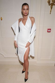 Farfetch and Buro Fashion Forward Initiative cocktail - September 30 2016  Irina Shayk