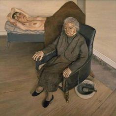 Lucian Freud, Gran interior, Londres London W.9, 1973