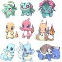 "Some Pokemon ""evolve"" from one form to another. Their evolution normally always involves them getting better at battling other Pokemon. In this sense, Pokemon evolution is similar to the. Baby Pokemon, 3d Pokemon, Pokemon Bulbasaur, Charmander Tattoo, Pokemon Super, Pokémon Kawaii, Anime Kawaii, Chibi, Pokemon Starters"