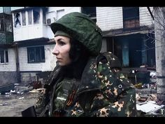 "[eng subs] Female militia Lia of NAF ""Sparta"" unit"