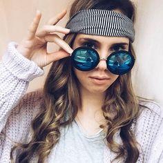 fcc4893711f3 Ragstock (@ragstock) • Instagram photos and videos. Round Sunglasses