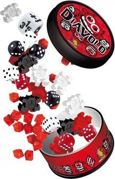 Diavolo un juego de mucha destreza, habilidad y observación. Un juego en el que te divertirás y aprenderás a ser la mano más rápida para derribar a tus contrincantes. http://www.lacasadelaeducadora.com/productos-y-servicios/diavolo