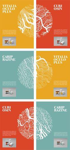 Medicine Package Design by Dóra Novotny (Student Project)