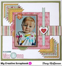 Scrappy Chick Designs: My Creative Scrapbook: July Reveal Day #2~