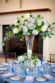 Summer Beach Wedding Reception Table