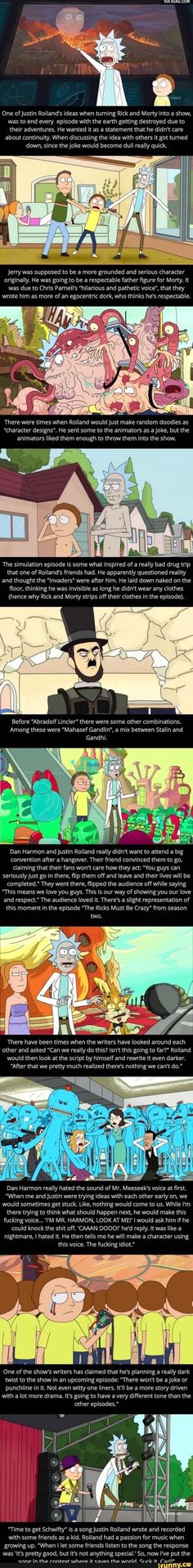 Ricky And Morty, Wubba Lubba, Fraggle Rock, Get Schwifty, Fandoms, Por Tv, Best Funny Pictures, Fun Facts, Harry Potter