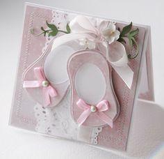 Beautiful new baby card by Agnieszka