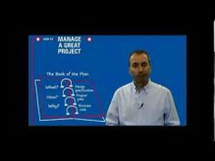 Short video: How to Manage a Great Project - The Book of the Plan
