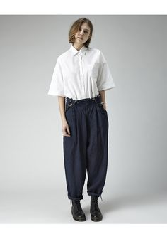 Y's / Tuck Suspender Pant
