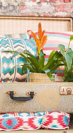 Perfect Blaues Zierkissen f r den Garten Kissen f r den Outdoorbereich Hartman Mirre Zierkissen gibt us bei Pattern Blaues Zierkissen f r den Garten
