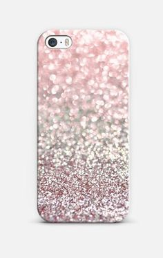 Girly Pink Snowfall iPhone 6 case by Lisa Argyropoulos