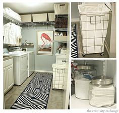 Laundry Room Revamp Project