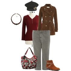 """Comfort in the red zone"" by maria-kuroshchepova on Polyvore"