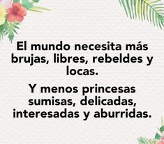 Lecc! Strong Girls, More Than Words, Spanish Quotes, Powerful Women, Woman Quotes, Book Quotes, Feminism, Wise Words, Quotations