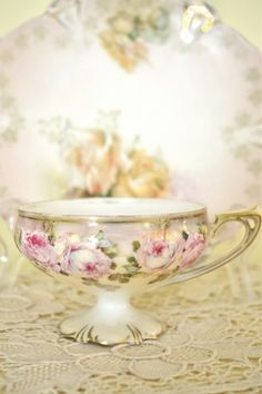 Can you have too many tea cups?  Not yet!