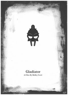 Gladiator Film Poster by ~FirGeL