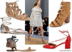 Wearable Trends: Love To Lace 'em Up
