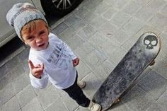 this will be my child. because he'll hang out with his grandpa too much. ;)
