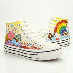 Cute sweet stars rainbow shoes Cute Kawaii Harajuku Fashion Clothing & Accessories Website. Sponsorship Review & Affiliate Program opening!