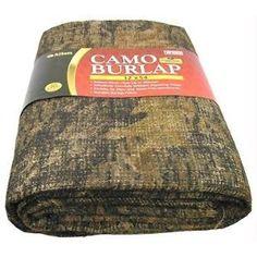 Allen Company Burlap Camo Blind Fabric (Break-Up, X Allen Allen
