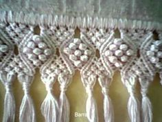 cartera playera 7 - crochet Muestra de tejido - Macrame sample - YouTube