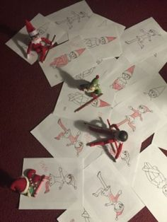 Elf on the shelf ideas Coloring elf pictures