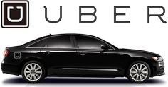 UBER Logo only Car Magnet Sign for your UBER by SignCharacter